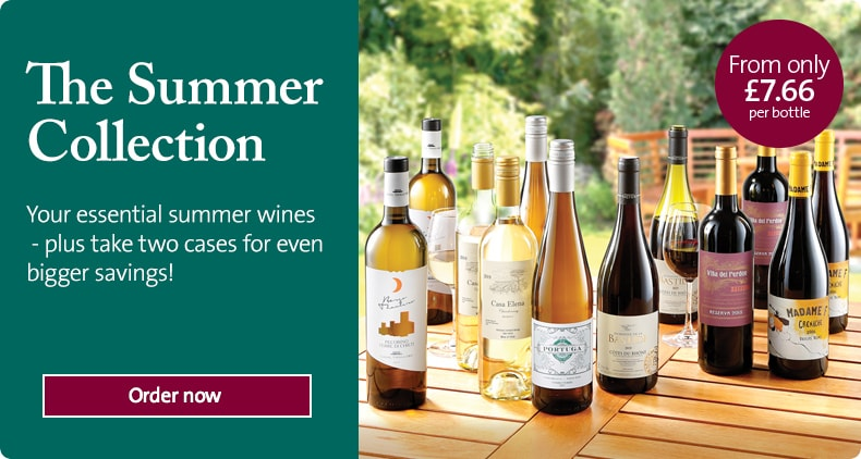 Your essential summer wines - plus take two cases for even bigger savings!