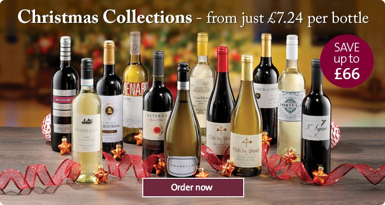 Fill your wine rack with bestsellers from as little as £7.24 per bottle