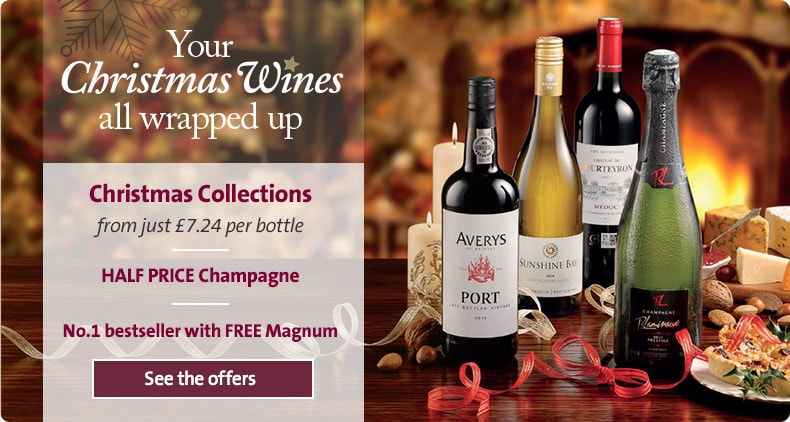 Your Christmas Wines all wrapped up