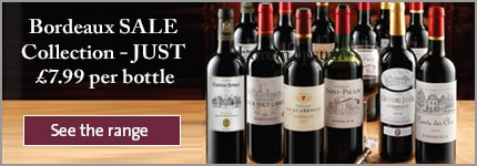 Bordeaux SALE Collection - JUST £7.99 per bottle