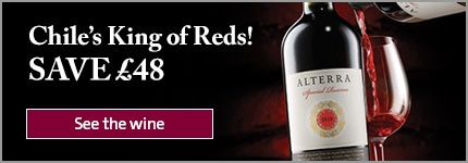 Chile's King of Reds! SAVE £48