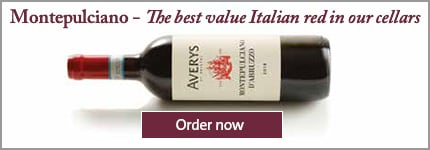 Averys Montepulciano 2019 - The best value Italian red in our cellars