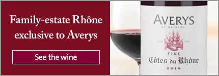 Family-estate Rhône exclusive to Averys