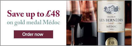 Save up to £48 on gold medal Médoc. Order now. Château Les Bernèdes 2014