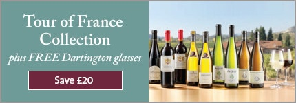 Tour of France Collection plus FREE Dartington glasses. Save £20