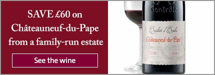 SAVE £60 on Châteauneuf-du-Pape from a family-run estate