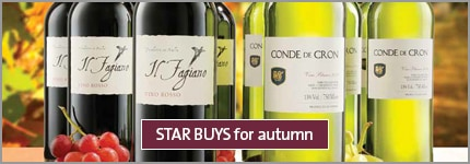 STAR BUYS for autumn