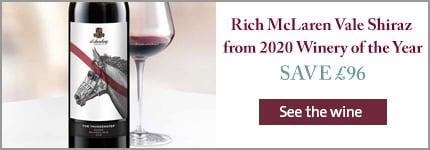 Rich McLaren Vale Shiraz from 2020 Winery of the Year
