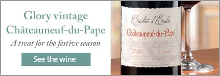 Glory vintage Châteauneuf-du-Pape. Save up to £24