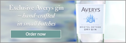 Exclusive Averys gin – hand-crafted in small batches