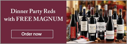 Dinner Party Reds with FREE MAGNUM