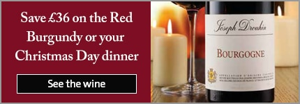 Save £36 on the Red Burgundy for your Christmas Day dinner
