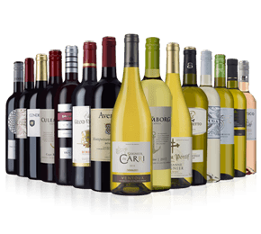 Wine Rack Essentials 15-bottle mixed case