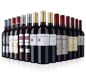 Wine Rack Essentials reds case