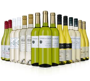 Wine Rack Essentials 15-bottle whites case