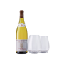 Chablis and Glasses Gift Set