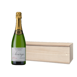 Averys Special Cuvee Brut Champagne Gift Boxed