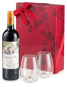 Fine Bordeaux & Dartington Crystal glasses