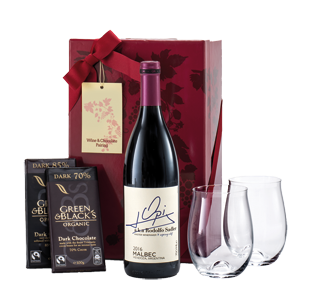 Wine & Chocolate Gift Set