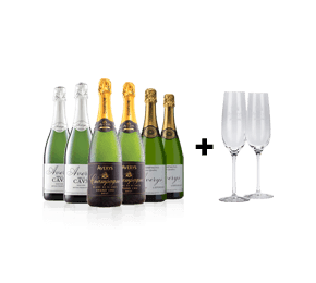 The Averys Sparkling Collection with FREE glasses