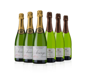 Fine French Sparklers 6-bottle Showcase
