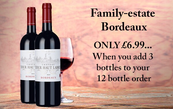 Family-estate Bordeaux - FROM ONLY £6.99