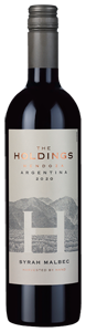The Holdings Syrah Malbec 2020