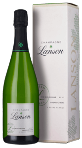 Champagne Lanson Green Label Organic Brut (in gift box)