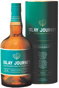 Islay Journey Blended Malt Scotch Whisky (70cl in gift tube)