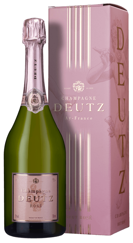 Champagne Deutz Brut Rosé (in gift box) NV