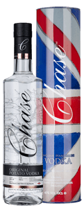Chase English Potato Vodka (70cl) (in Union Jack tin) 2018