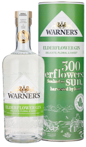 Warner's Elderflower Gin (70cl)