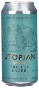 Utopian Unfiltered British Lager