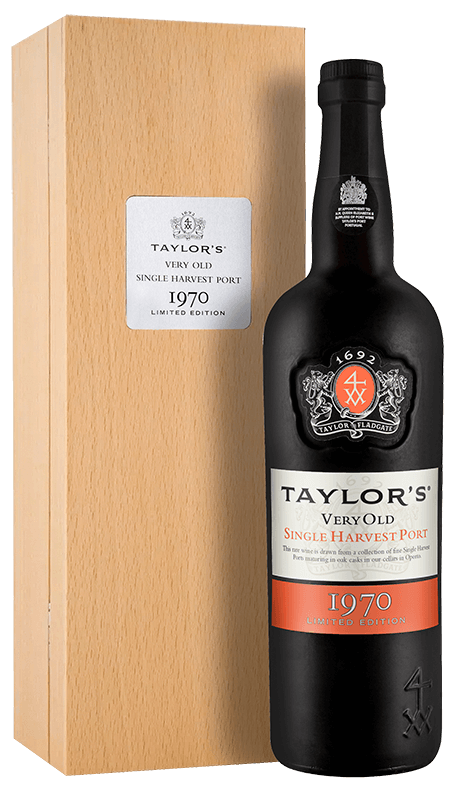 Taylor's Very Old Single Harvest Port 1970 1970