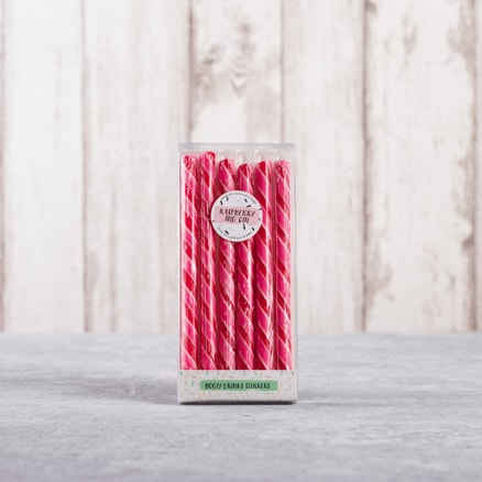 Raspberry Gin Stirrer
