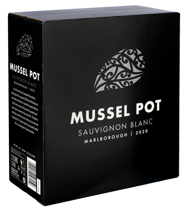 Mussel Pot Sauvignon Blanc (Bag-in-Box) 2020