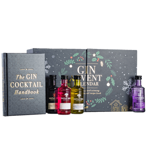 Gin Advent Calendar with Cocktail Book