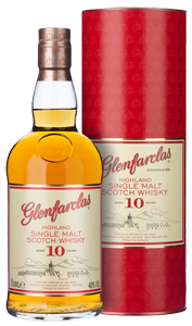 Glenfarclas 10-Year-Old Whisky (70cl) (Gift box)
