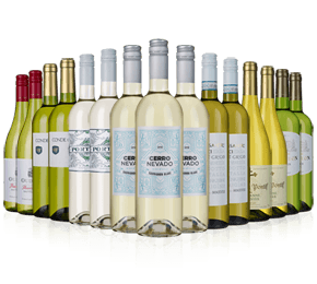 Wine Rack Essentials 15 bottle whites case