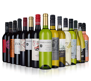 Wine Rack Essentials - 15-bottle mixed case