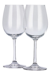 Dartington Crystal white wine glasses