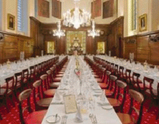 Dinner in the Great Hall at The Worshipful Company of Vintners
