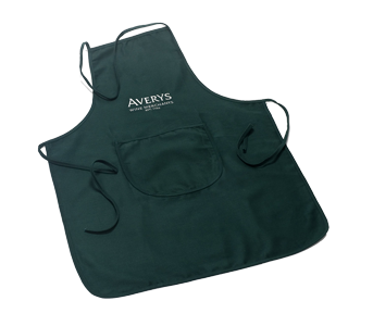 Averys Green Apron Stylish apron for any use.
