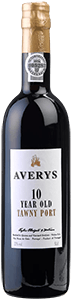 Averys 10 Year Old Tawny Port Half litre