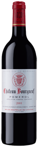 Chateau Bourgneuf Vayron Pomerol in wooden cases of 12 Bottles 2001