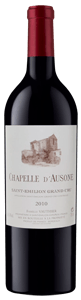 Chapelle d'Ausone St Emilion Grand Cru in wooden cases of 6 Bottles 2010
