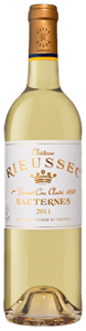 Chateau Rieussec  1er Cru Classe in wooden cases of 6 Bottles 2011