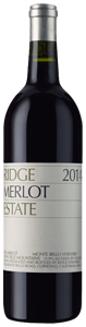 Ridge Vineyards Estate Merlot 2014