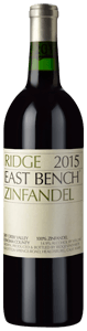Ridge Vineyards East Bench Zinfandel 2015