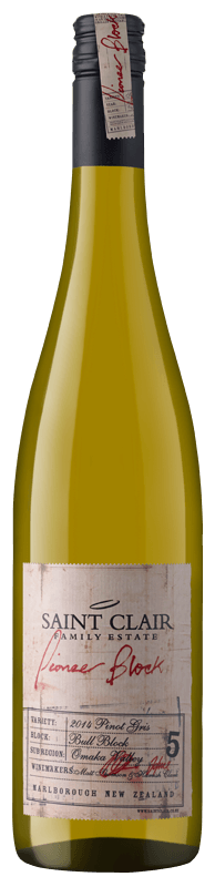 Saint Clair Block 5 Pinot Gris 2014